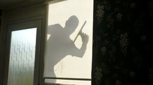 silhouette window cleaner