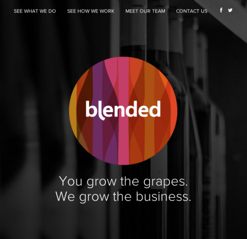 website for blended agency inc